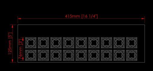 2 lattice stencil