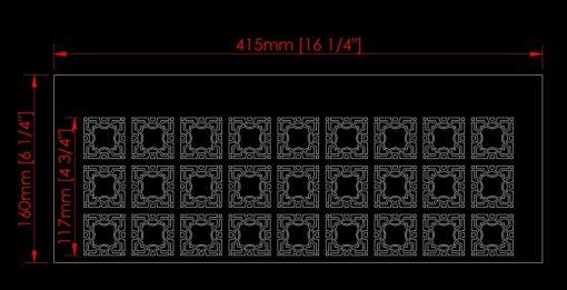 3 lattice stencil