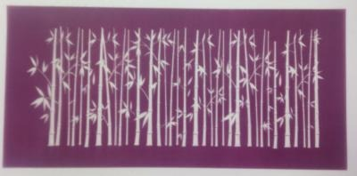 Bamboo Mesh Stencil