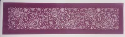 Flower Lace Mesh Stencil