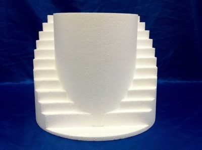 Rounded Staircase Cake Dummy