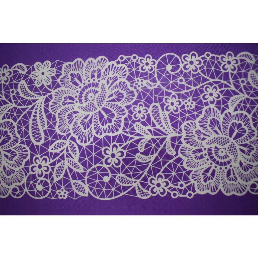 Flower Mesh Cake Stencil Mesh Cake Stencils