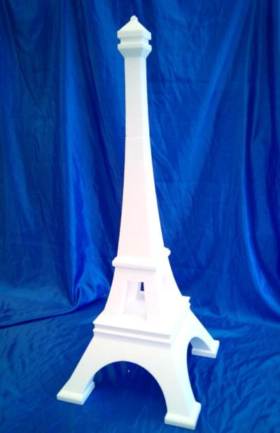 eiffel tower cake dummy