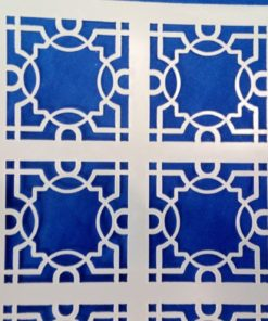lattice stencil detail