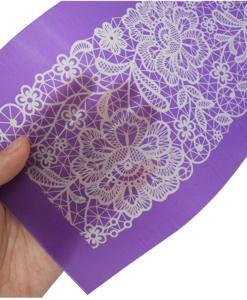 mesh stencil material