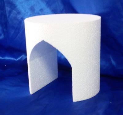 pointed arch cake dummy
