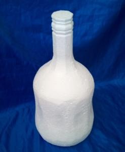 rum bottle cake dummy