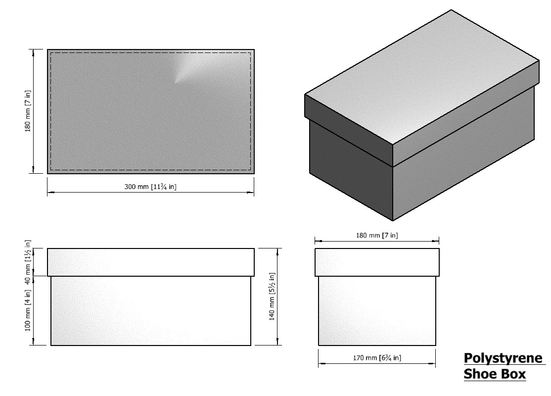 Nike Shoe Box Dimensions